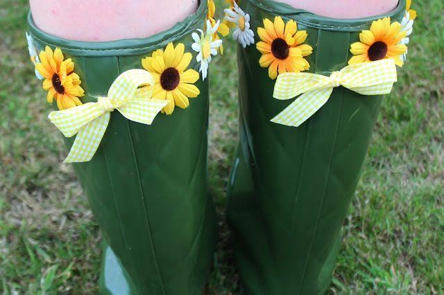 DIY: Customised Festival Wellies | Dreams That Glitter xoxo by Beauxoxo | Fashion, Beauty & Craft DIYs Blog