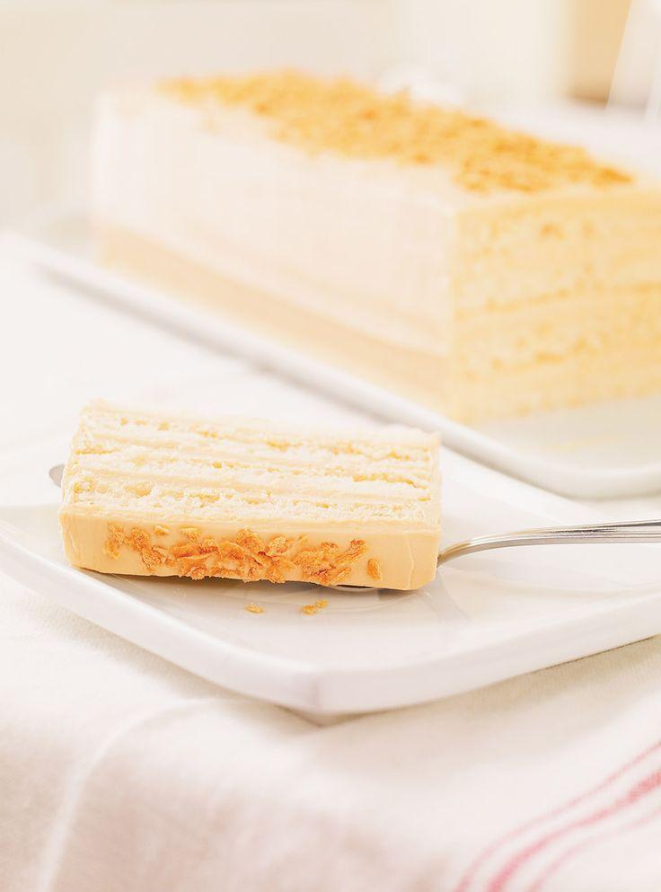 Recette de gâteau sublime à l'érable de Ricardo. Recette de dessert pour vous sucrer le bec. Entre-temps, dans une casserole, porter à ébullition le sirop d'érable, la crème et le sirop de maïs.