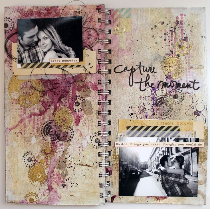 mixed-media album