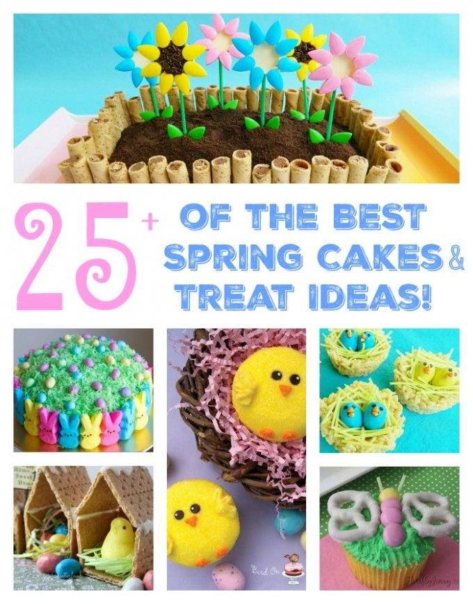 Fun Finds Friday - The BEST Spring Cake & Treat Ideas for Easter