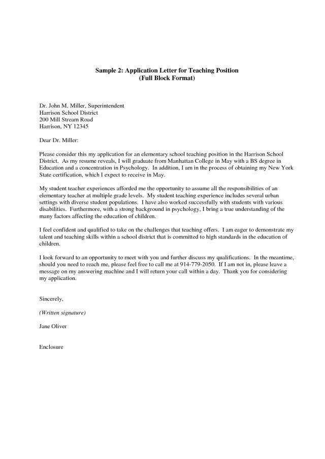23+ Teaching Assistant Cover Letter Cover Letter Resume Teaching