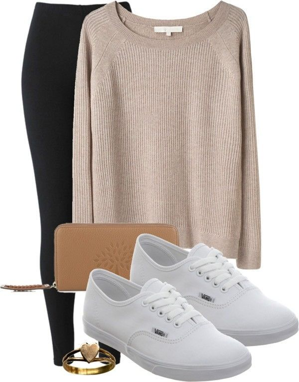 ❤ very causal and comfortable plus the VANS:)