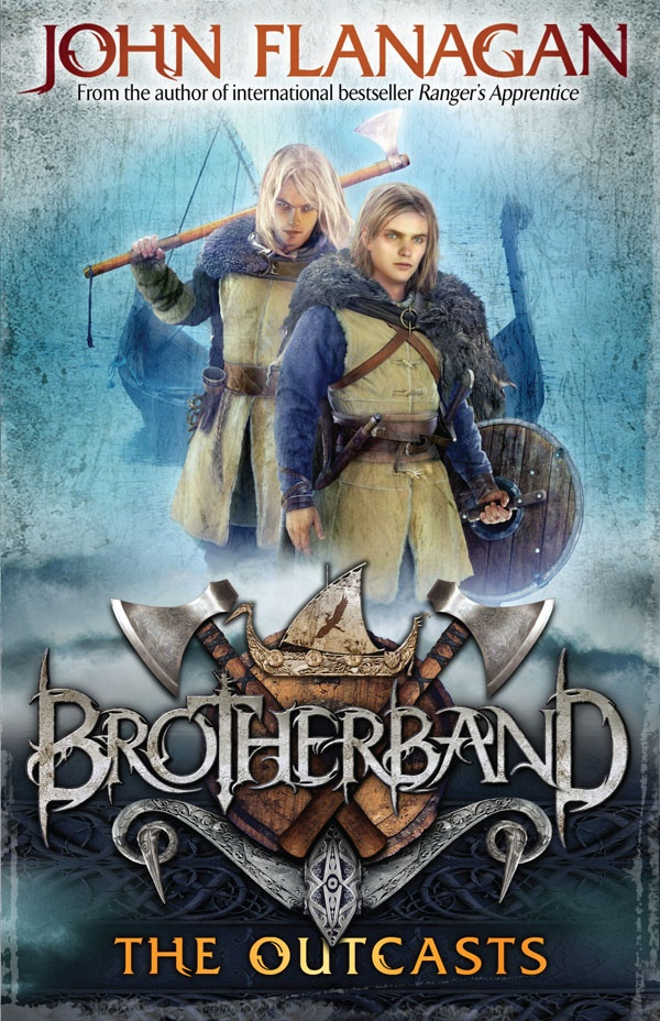 In 2011 John Flanagan told us all about his exciting new series Brotherband.