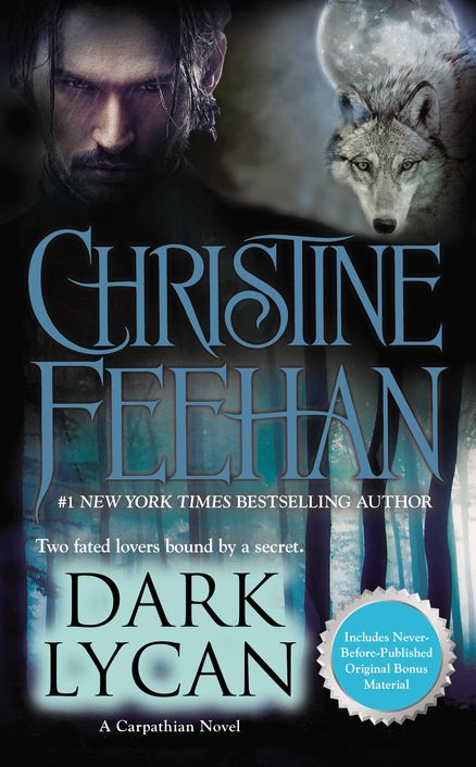 DARK LYCAN by Christine Feehan -- After spending centuries in a prison of ice, Tatijana of the Dragonseekers was freed. Awakened in human form, Tatijana yearns to explore the modern world—one with more mysteries than she is prepared for.