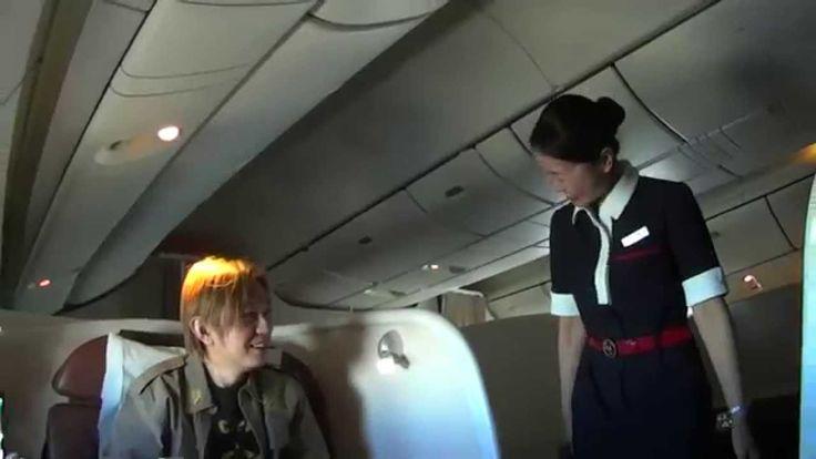 JAL SKY SUITE 777 JAL First Class 日本航空 日航 DSC-RX100M2 テスト