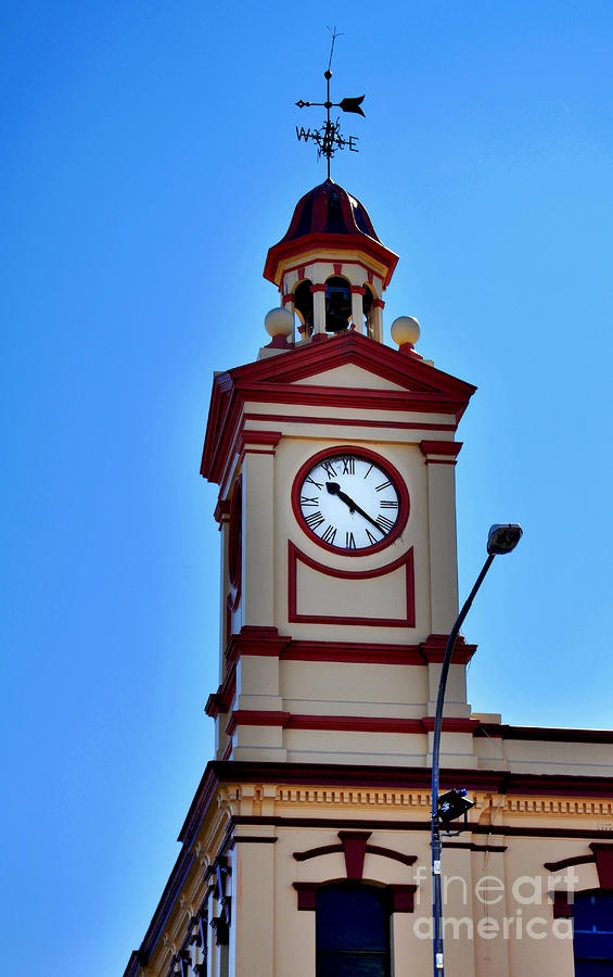 Clock Tower in Albury Australia