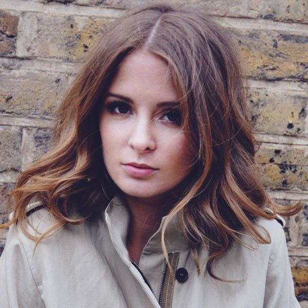 Millie Mackintosh with shoulder-length hair...Really planning on cutting my her this length #hair