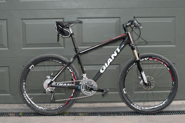 Giant XTC 2010 -  his favourite mountain bike