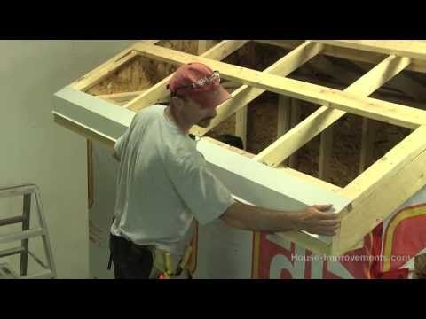 How To Build A Shed - Part 4 Installing Sheet Metal Roof - YouTube: Great Tutorial for Smaller Buildings & Chicken Coops!
