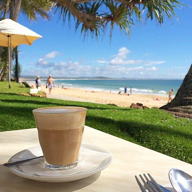 Enjoying brunch by the beach at Bistro C.