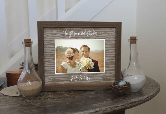 Unity Sand Ceremony Frame Set Shadow Box by SayAnythingDesign