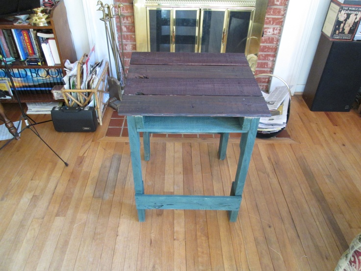easy pallet tv stand instructions