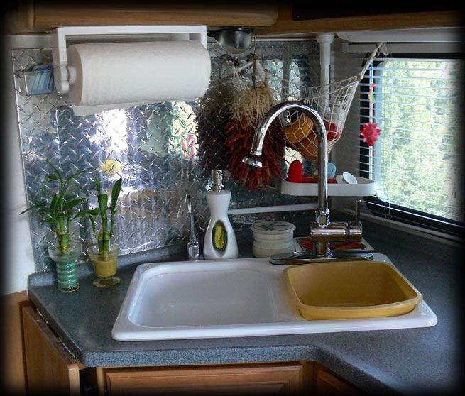 Rv Kitchen Storage Ideas: 156 Best Images About Class C Motorhome Redo Ideas On