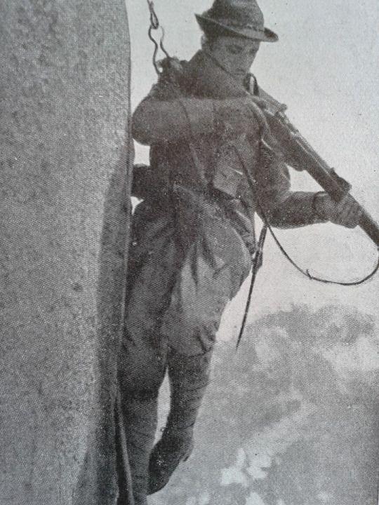 Italian Alpino, 1915