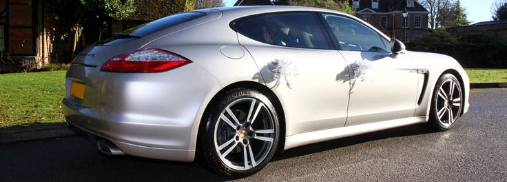 Panamera Wedding car is based in Hedge End, Southampton and covers Southampton and the surrounding areas within Hampshire.You can travel in style in our chauffeur driven fully valeted four seater, four door Porsche Panamera sports car.