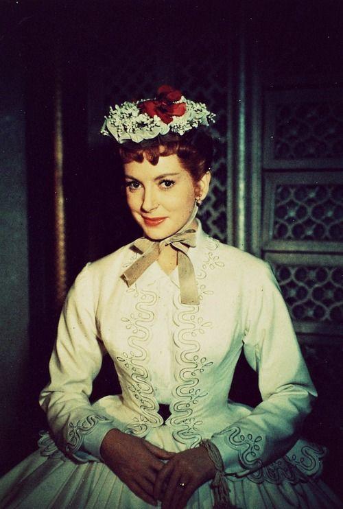 The King and I (1956) Deborah Kerr as Anna Leonowens. #CostumeDesign: Irene Sharaff