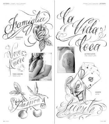 Letras para Tatuajes Cursiva Abecedario (8)