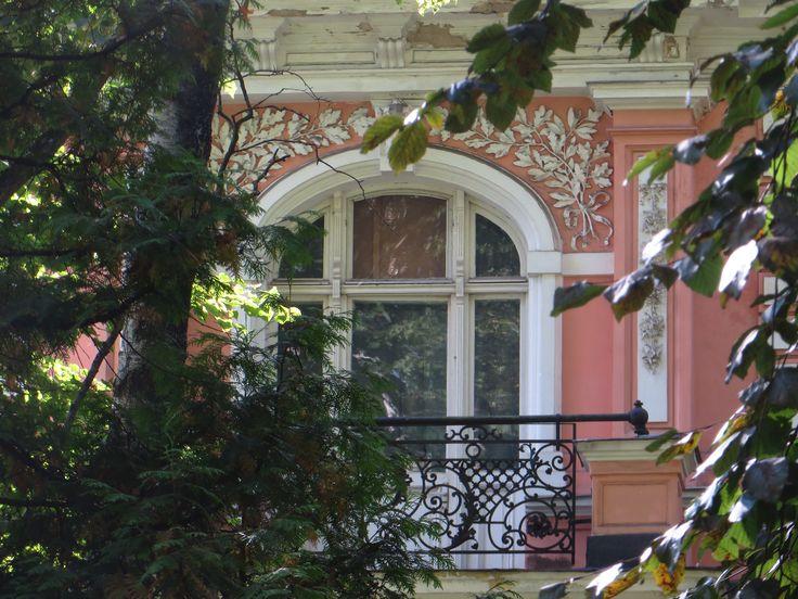 A little balcony. Rīga/ Āgenskalns