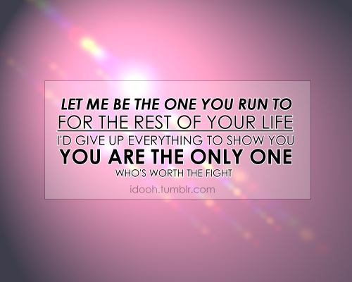 I'm having these lyrics from Green River Ordinance printed and hanging them in a lovely frame. <3