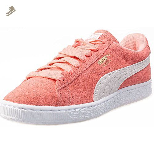 Puma Suede Classic Womens Trainers Coral  7 UK  Puma sneakers for women
