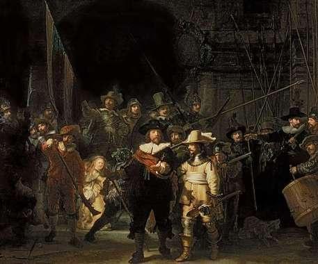 'Die Nachtwache' by Rembrandt Harmenszoon van Rijn on artflakes.com as poster or art print $18.48