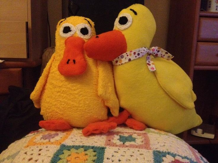 Kuscheltiere Enten Ducks
