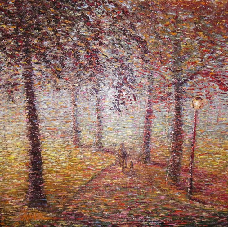 "Landscape Impressionism Artwork by Chris Quinlan - 24"" x 24""oil painting on canvas - http://quinlanart.com/118"