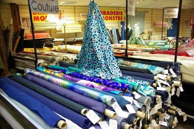 Adresses magasins de tissus sur Paris ny les Ateliers Claraines