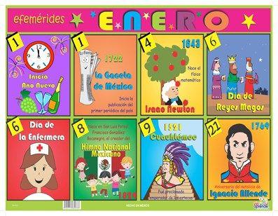 EFEMÉRIDES DE ENERO Y RECURSOS | zona141camargotam