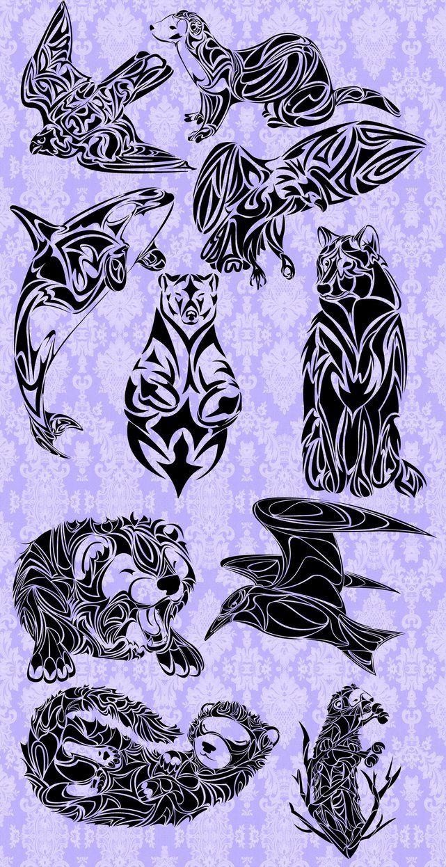 Tribal Tattoos by TaraPrince on DeviantArt