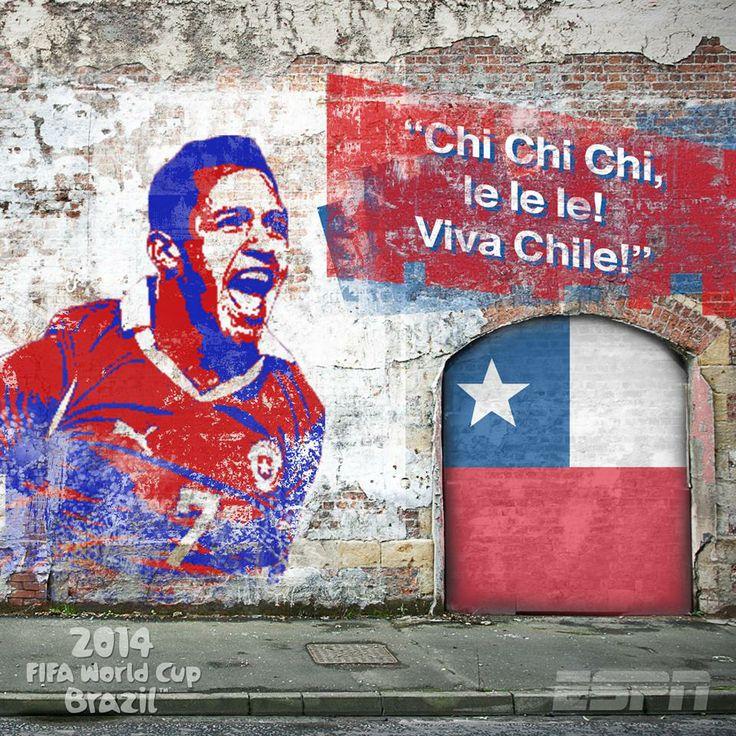 FIFA World Cup Brazil 2014  Chile