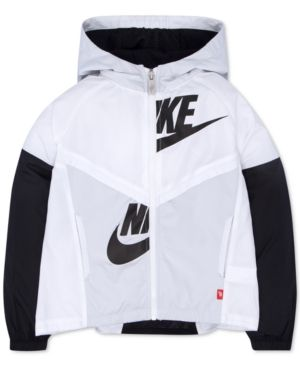 Nike Windrunner Jacket, Toddler & Little Girls (2T-6X) - White 3T