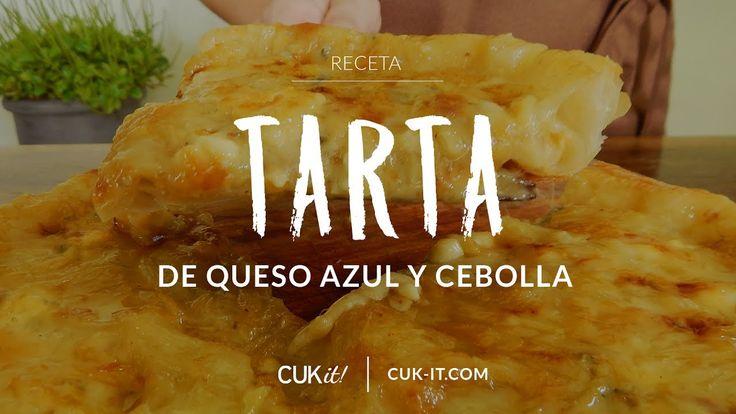 Receta de Tarta de Cebolla y Queso Azul (Roquefort) - CUKit!