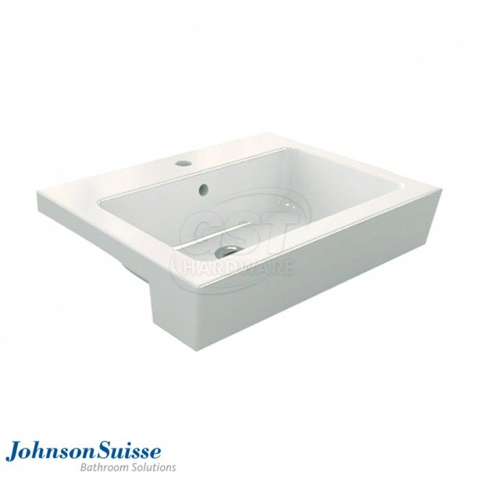 Trezzo 620 Semi recessed Basin Size  length width height   480mm. 9 best Johnson Suisse Semi recessed Basin images on Pinterest