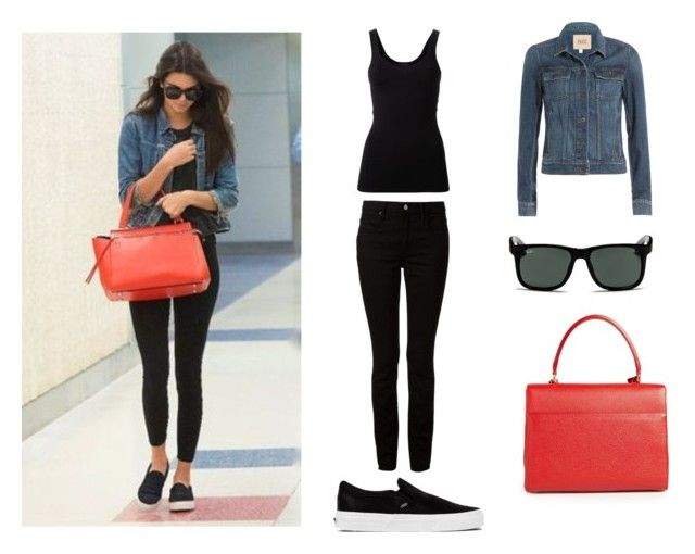 """""""#kendall jenne"""" by aliciaaa27 ❤ liked on Polyvore featuring Alexander Wang, Theory, Vans, Paige Denim, Yves Saint Laurent and Ray-Ban"""