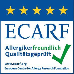"""Tagtäglich kommen viele Fragen ins Haus von Betroffenen, die gerne Wurst essen möchten, aber wissen müssen, ob sie das auch dürfen und gut vertragen. """"Deshalb"""", so Dr. Gernot Peppler, """"haben wir uns an die Europäische Stiftung für Allergieforschung mit Sitz an der Berliner Charité gewandt, die das ECARF-Qualitätssiegel vergibt.  Wir freuen uns sehr, berichten zu dürfen, dass Rack & Rüther jetzt zertifiziert ist für sein allergikerfreundliches Wurstsortiment."""""""