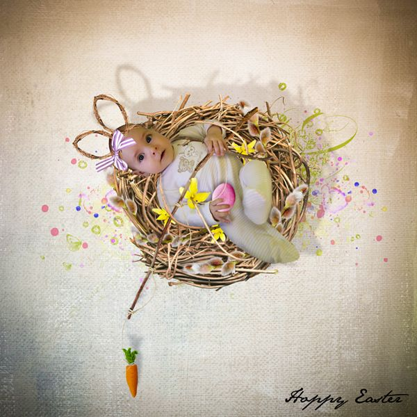 - NEW - Hoppy Easter by Palvinka Designs http://shop.scrapbookgraphics.com/Palvinka-Designs/