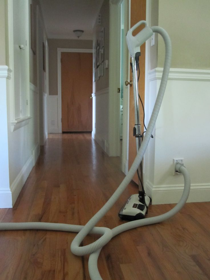 Central vacuum system.  I hope my house has this feature.