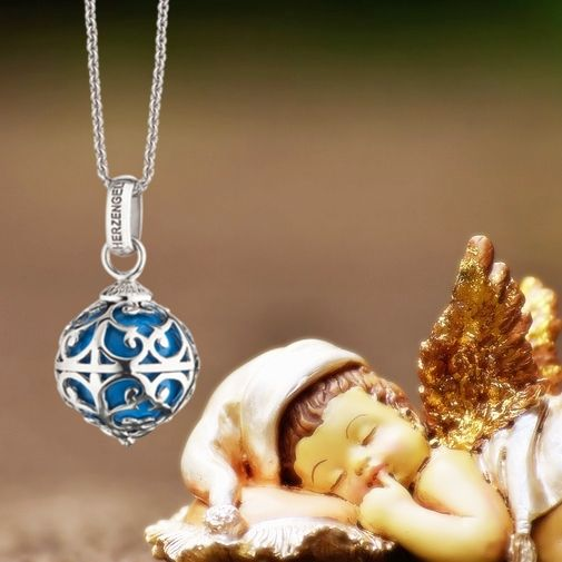 Angel Caller Turquoise Necklace by Aistikas Spiritual Children Jewelry
