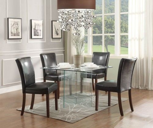 25 best ideas about Glass dining room table on Pinterest Glass