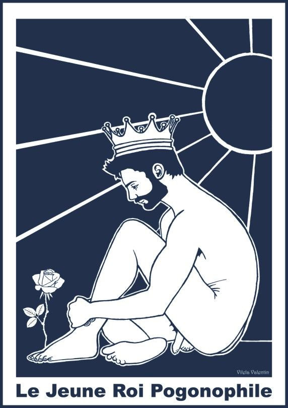 """""""The Young King Pogonophiliac"""" - Acrylic on paper - Vilela Valentin - copyright 2017 - All rights reserved. https://www.redbubble.com/people/vilelavalentin/works/26182923-the-young-king-pogonophiliac?asc=u http://vilelavalentin.weebly.com/the-young-king-pogonophiliac.html"""