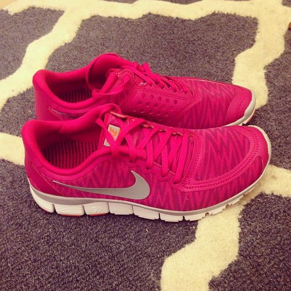 Nike Shoes #Nike #Shoes in pink and with a Print! So freakin amazing