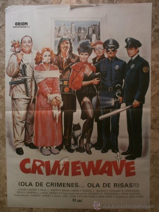 CRIMEWAVE. LOUISE LASSER, PAUL L.SMITH, BRION JAMES. - Foto 1