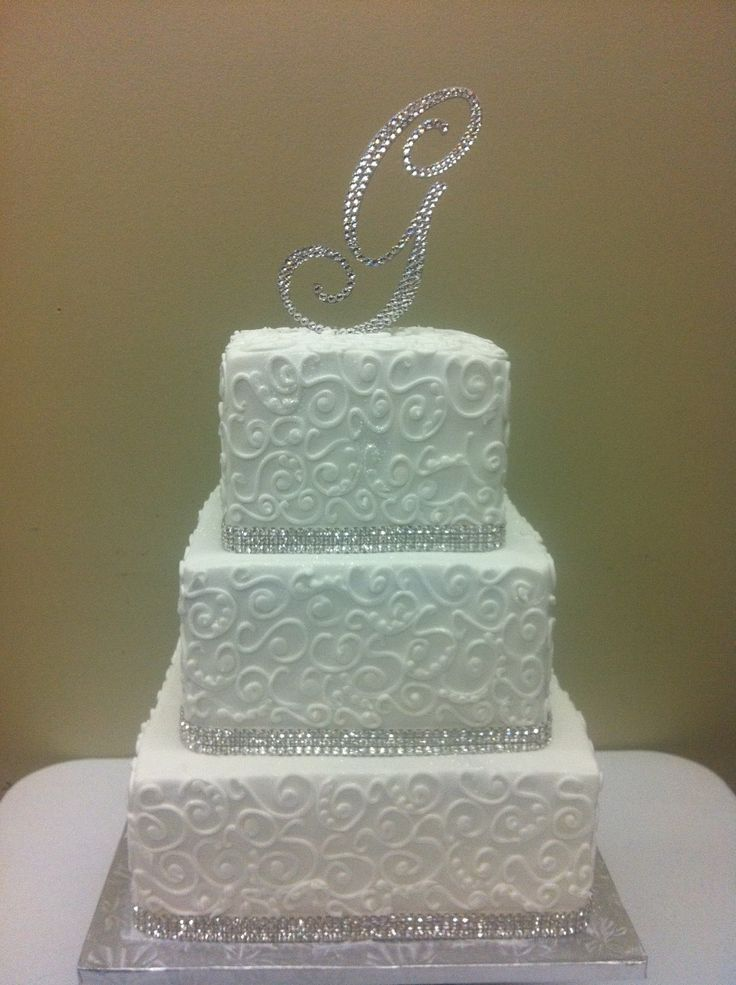 17 Best images about All Things Cake-Wedding Cakes on Pinterest Golf ball, Scroll wedding cake ...