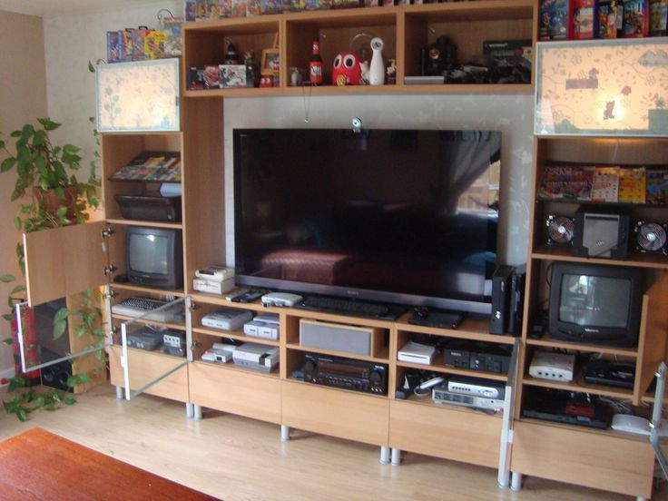 Flat Panel And Two Additional CRTs For Retro Gaming