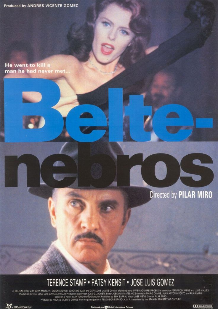 Prince of Shadows (Beltenebros, 1991) | Director Pilar Miró Another tale of vengeful intent, this time with Stamp as a communist brought back to Madrid two decades after the end of the Spanish Civil War to kill a man believed to have been a traitor to the Republican cause. When he decides to investigate further for himself, things become still murkier. Stylishly shot by Javier Aguirresarobe, Pilar Miró's political noir saw Stamp carry off the Best Actor prize at the Berlin Film Festival.