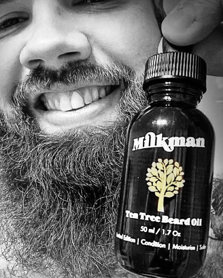 "•TEN TREE• We reckon a beard oil should do more than just condition, moisturise & fragrance your beard so we developed a limited edition ""Ten Tree"" Beard Oil. Each one sold will see money go to @beardsonorg so they can plant 10 native trees at the end of their Winter 90 Day BeardsOn Challenge. It's like Movember for the environment. Milkman Grooming Co Ambassador @riza.vision shows you the goods."