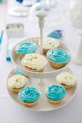 Happy birthday in Tiffany Blue