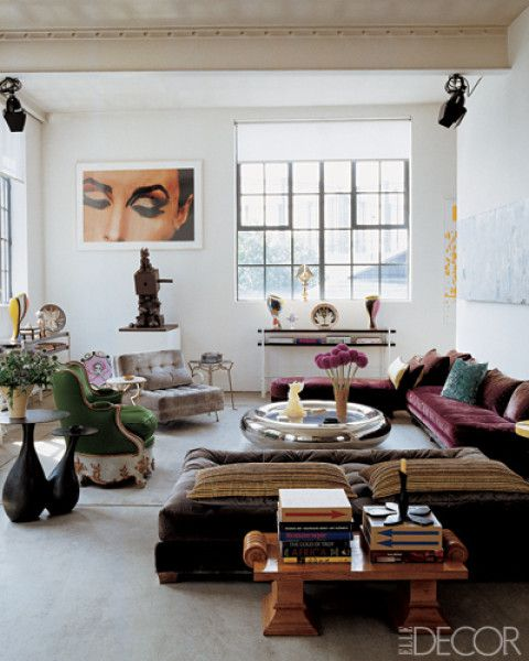 282 best Wohnzimmer   Living room images on Pinterest Living - industrial chic wohnzimmer