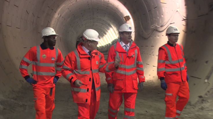 Less than five years after works began on Crossrail, Europe's largest infrastructure project today reached the halfway point of its construction.